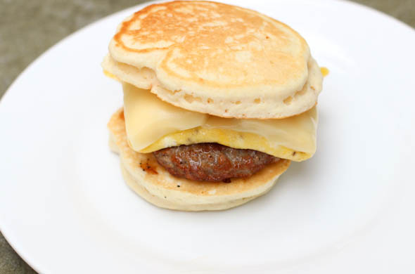 The Three Bite Rule - McGriddles