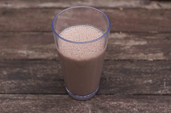 The Three Bite Rule - Chocolate Almond Smoothie