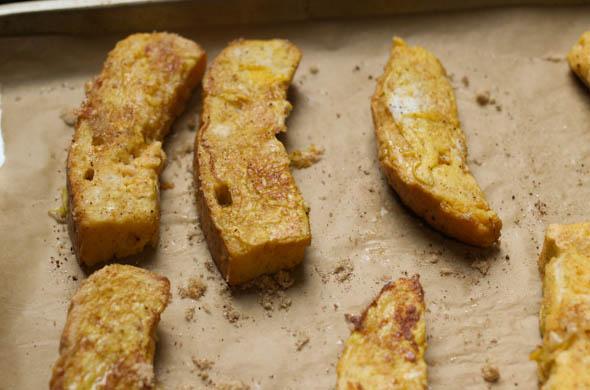 The Three Bite Rule - Churro French Toast Sticks