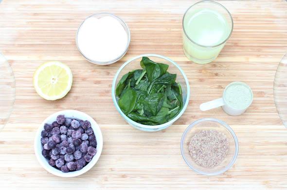 The Three Bite Rule - Blueberry Lemonade Smoothie