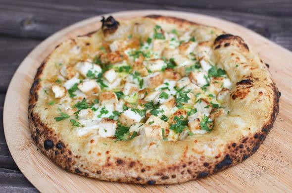 The Three Bite Rule - Chicken Piccata Pizza