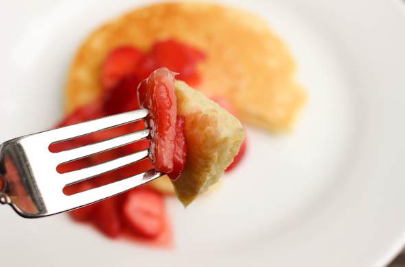 The Three Bite Rule - Lemonade Pancakes